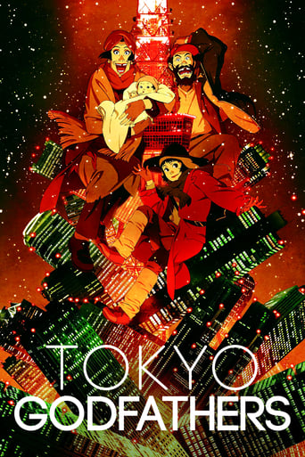 Poster of Tokyo Godfathers