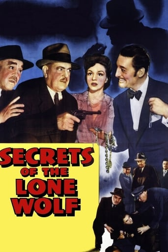 Poster of Secrets of the Lone Wolf