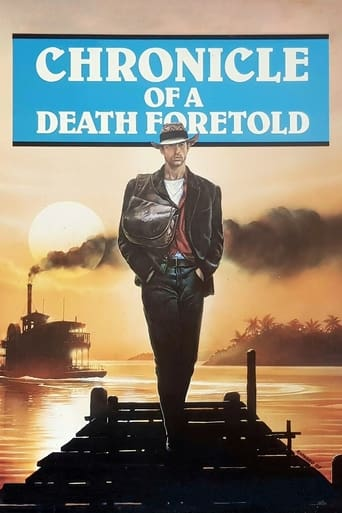 Poster of Chronicle of a Death Foretold