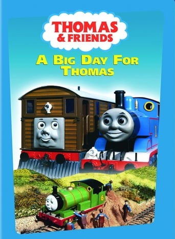 Poster of Thomas & Friends: A Big Day for Thomas