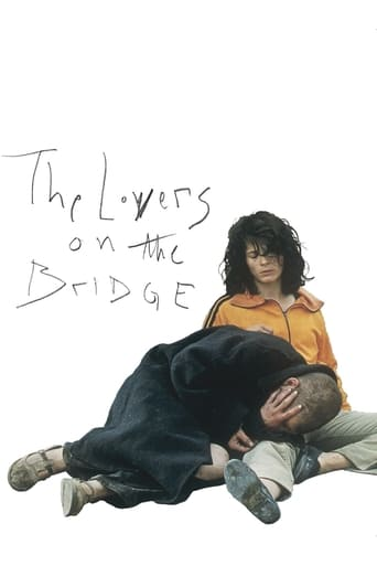 Poster of The Lovers on the Bridge