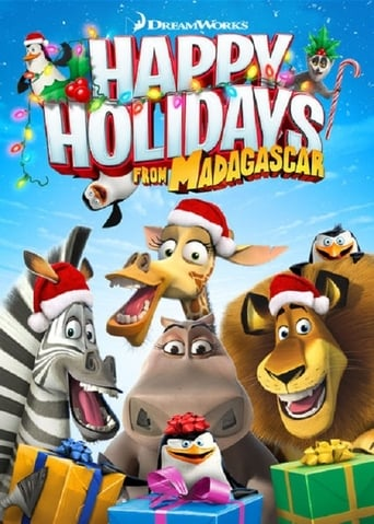 Poster of DreamWorks Happy Holidays from Madagascar