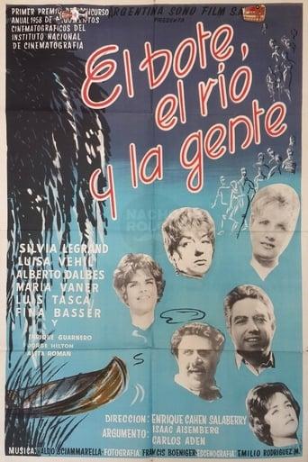 Poster of El bote, el río y la gente