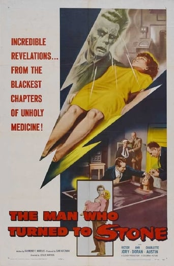 Poster of The Man Who Turned to Stone