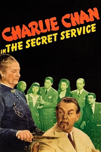 Poster of Charlie Chan in the Secret Service
