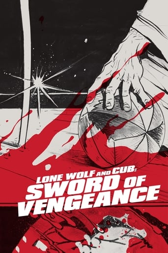 Poster of Lone Wolf and Cub: Sword of Vengeance