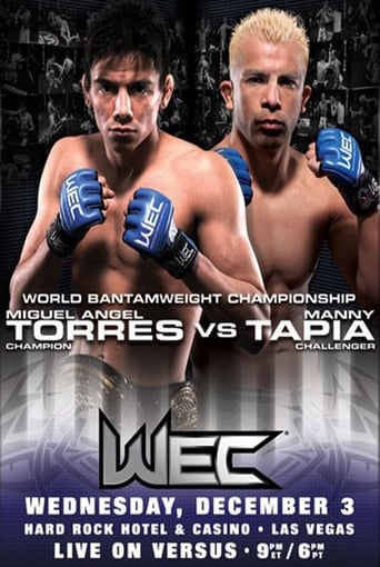 Poster of WEC 37: Torres vs. Tapia