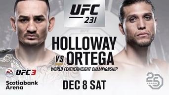 UFC 231: Holloway vs. Ortega