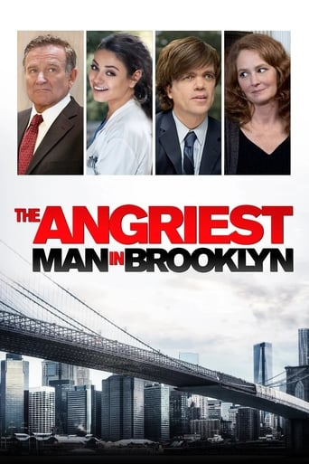 Poster of The Angriest Man in Brooklyn