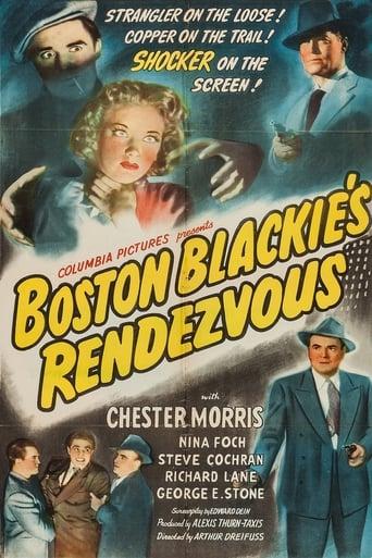 Poster of Boston Blackie's Rendezvous