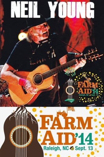 Poster of Neil Young - Live at Farm Aid 2014