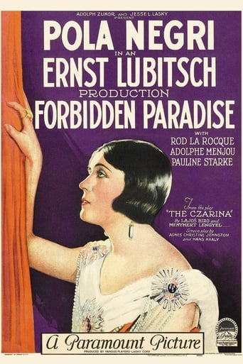 Poster of Forbidden Paradise