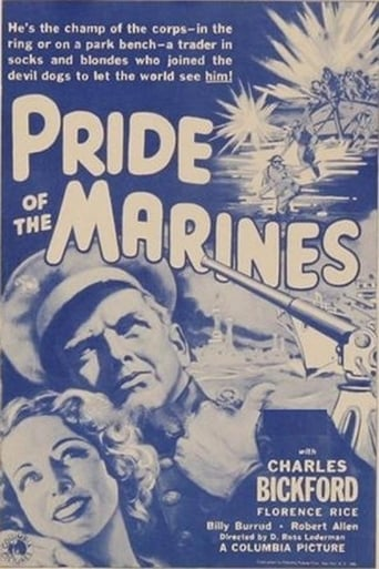 Poster of Pride of the Marines