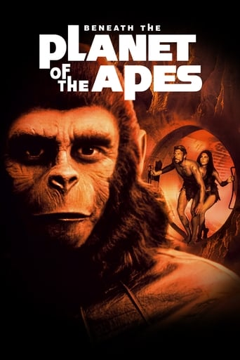 Poster of Beneath the Planet of the Apes