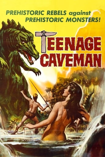 Poster of Teenage Caveman