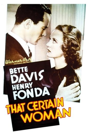 Poster of That Certain Woman