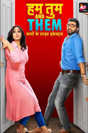 Poster of Hum Tum and Them