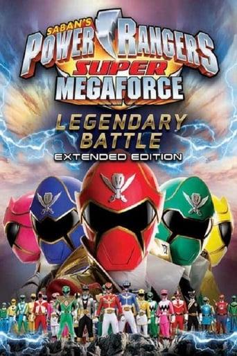Poster of Power Rangers Super Megaforce: The Legendary Battle