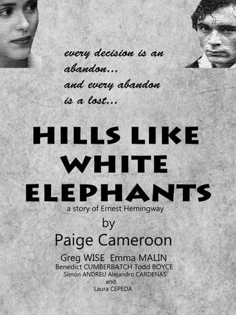 Poster of Hills like white elephants