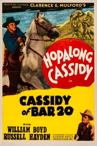 Poster of Cassidy of Bar 20