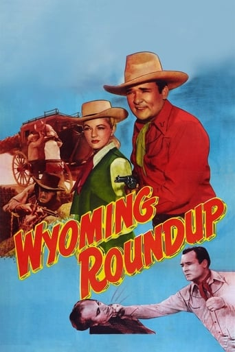 Poster of Wyoming Roundup