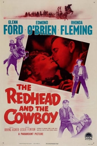 Poster of The Redhead and The Cowboy