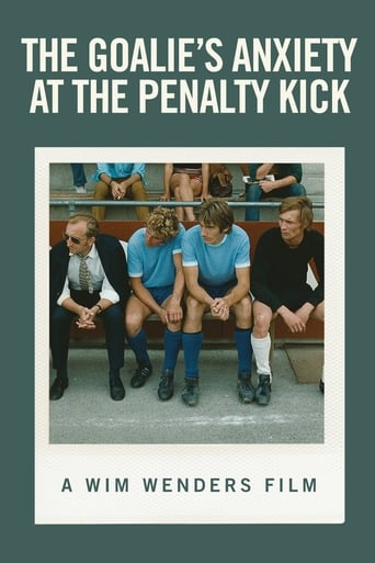 Poster of The Goalie's Anxiety at the Penalty Kick