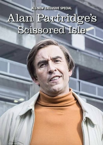 Alan Partridge's Scissored Isle poster