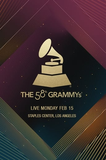 Poster of The 58th Annual Grammy Awards 2016