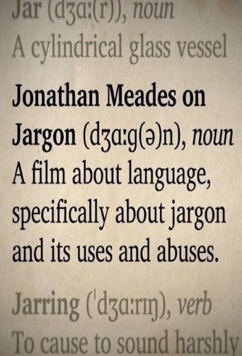 Poster of Jonathan Meades on Jargon