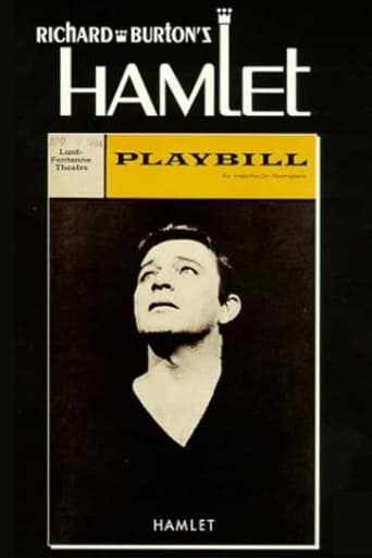 Poster of Hamlet from the Lunt-Fontanne Theatre