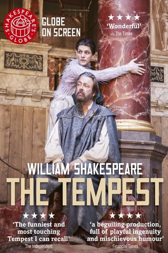 Poster of The Tempest: Shakespeare's Globe Theatre