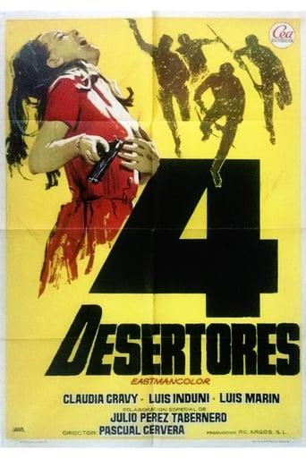 Poster of Cuatro desertores