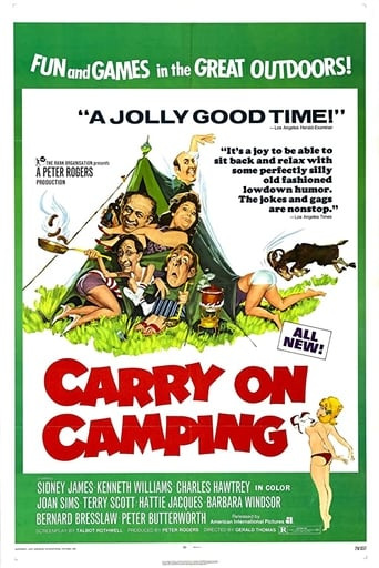 Poster of Carry On Camping