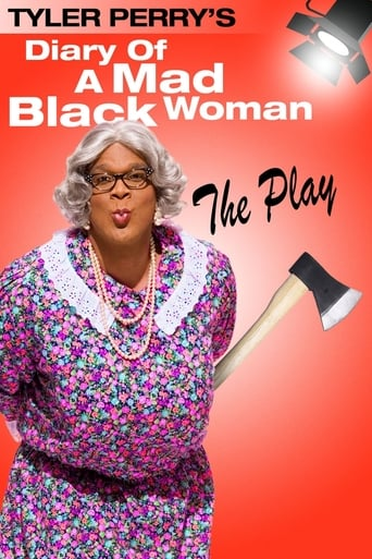 Poster of Tyler Perry's Diary of a Mad Black Woman - The Play