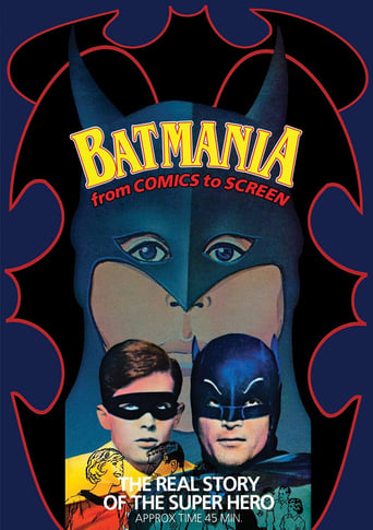 Poster of Batmania: From Comics to Screen