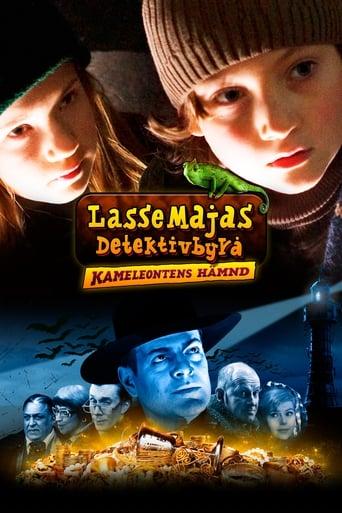 Poster of LasseMajas Detektivbyrå - kameleontens hämnd