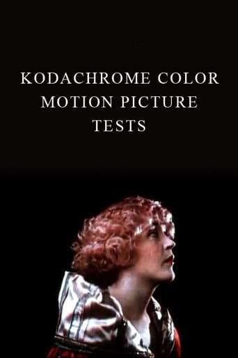 Poster of Kodachrome Color Motion Picture Tests