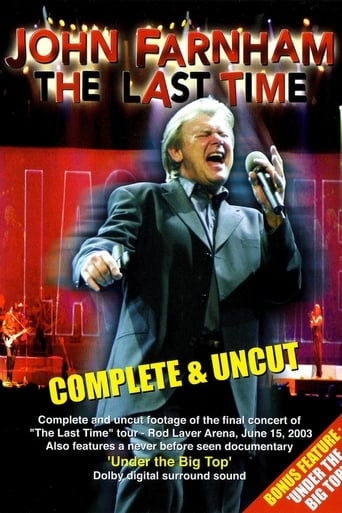 Poster of John Farnham - The Last Time