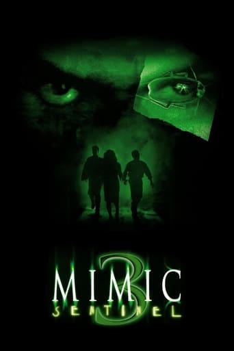 Poster of Mimic: Sentinel