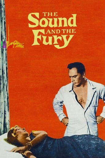 Poster of The Sound and the Fury