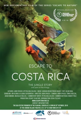 Poster of Escape to Costra Rica