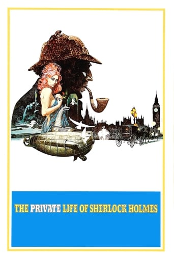 Poster of The Private Life of Sherlock Holmes