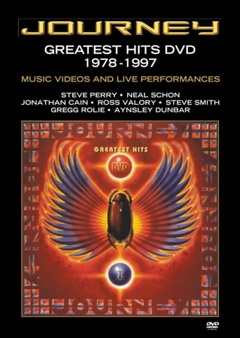 Poster of Journey - Greatest Hits DVD 1978-1997