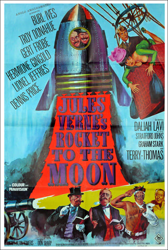 Poster of Jules Verne's Rocket to the Moon