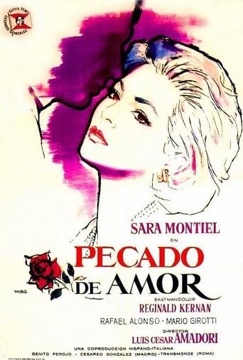 Poster of Pecado de amor