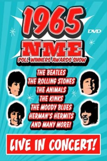 New Musical Express poll winners concert - 1965 poster