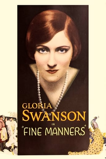 Poster of Fine Manners