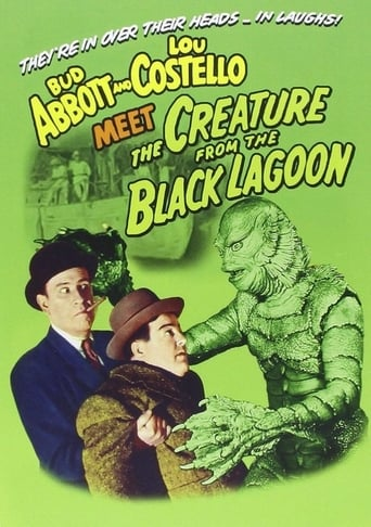 Poster of Abbott and Costello Meet the Creature