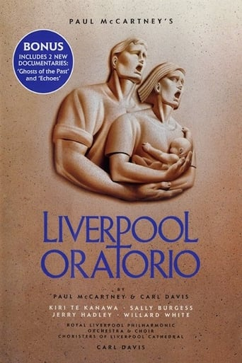 Paul McCartney's Liverpool Oratorio poster